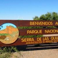 PARQUE NACIONAL SIERRA DE LAS QUIJADAS... SAN LUIS, Argentina