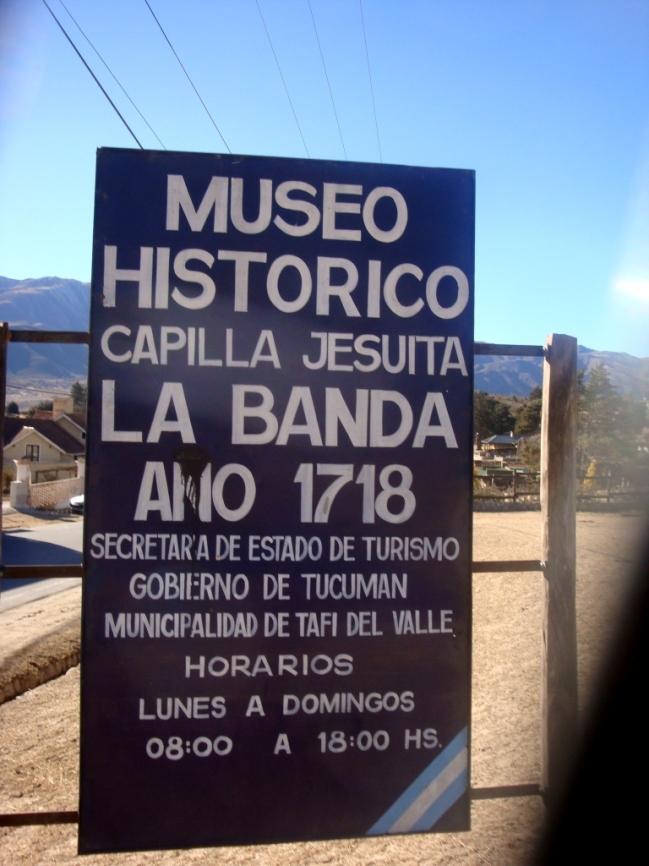 Museo La Banda Tafi del Valle