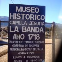 MUSEO JESUITICO DE LA BANDA. Tafi del Valle. TUCUMAN. ARGENTINA