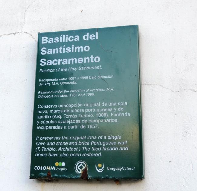 Basilica Santisimo Sacramento Colonia