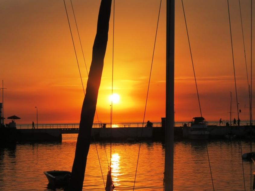 Puerto de Colonia Uruguay