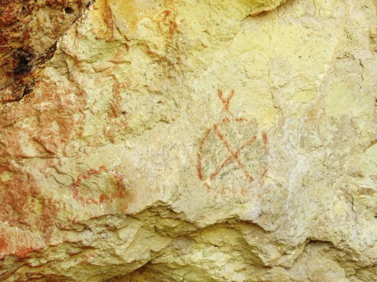 Pinturas Rupestres en Piedra Parada
