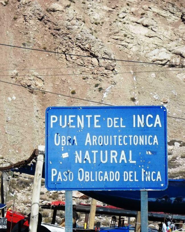 Puente del Inca en Mendoza