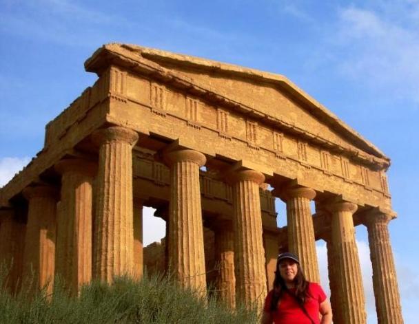 El templo de la Concordia Agrigento