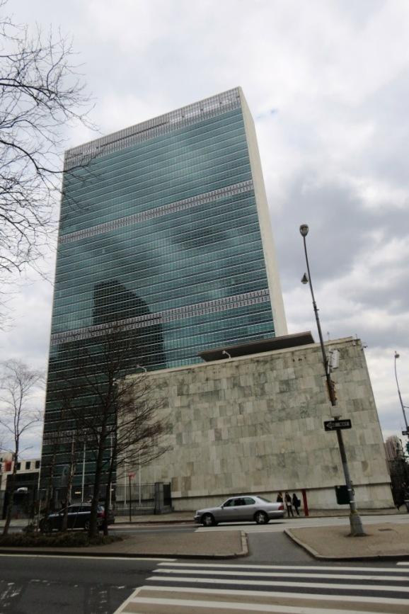 Edificio de la ONU Nueva York