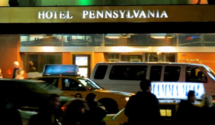 Hotel Pennsylvania Nueva York