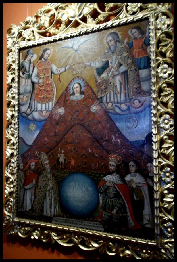 La virgen del cerro Potosi