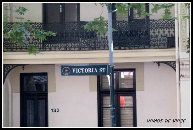 Victoria Street Sydney