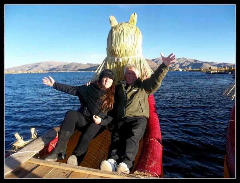Navegacion por el lago titicaca