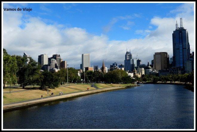 RIO YARRA EN MELBOURNE