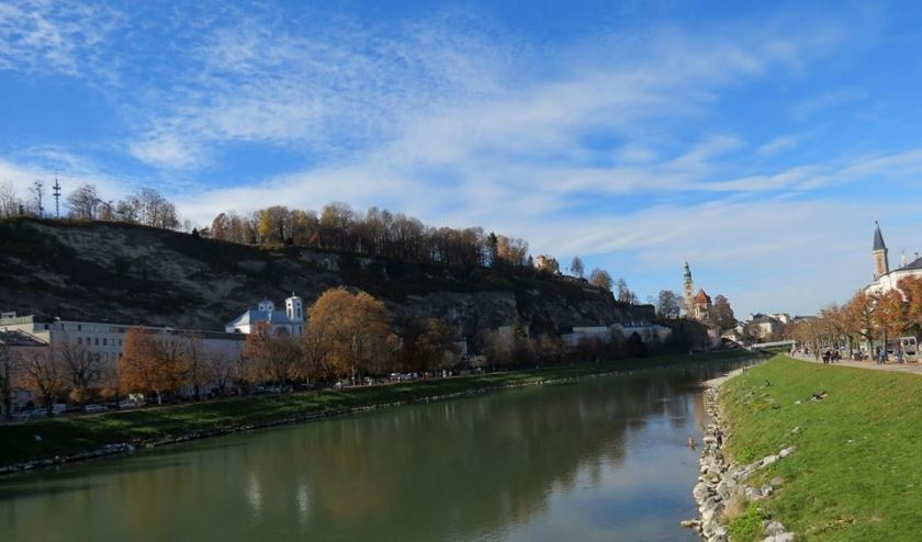 rio salzach en salzburgo