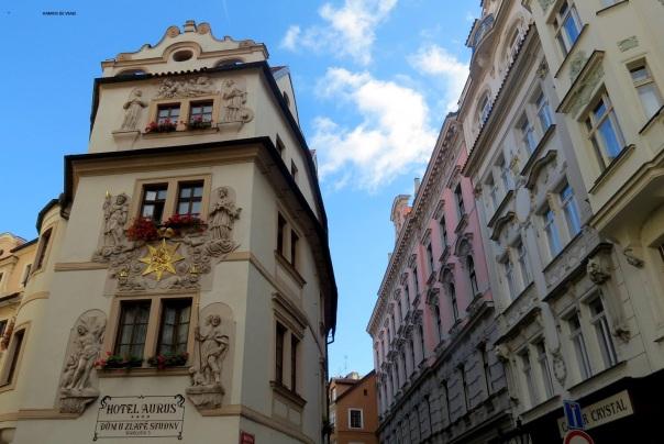 Barrio judio en Praga