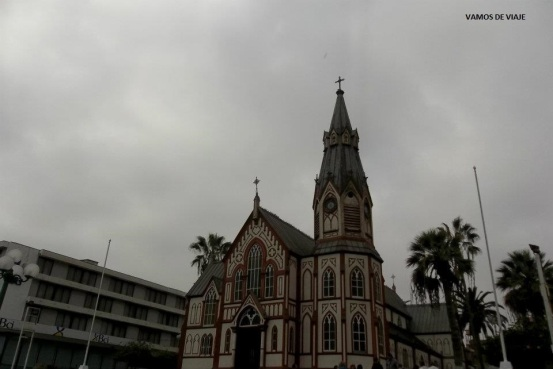 CATEDRAL SAN MARCOS ARICA CHILE